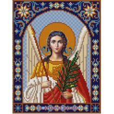 Ткань для вышивания бисером Святой Михаил, 20х25, Конек