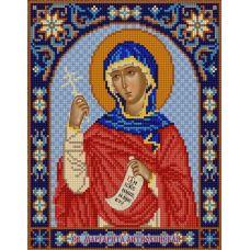 Ткань для вышивания бисером Святая Маргарита, 20х25, Конек