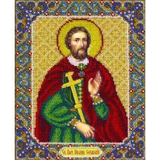 Вышивка бисером Святой Иоанн Сочавский, 20x25, Паутинка