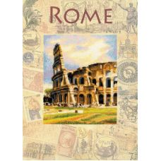 Набор для вышивания Города мира. Рим, частичная вышивка, 30x40, Риолис, Сотвори сама