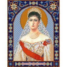 Ткань для вышивания бисером Святая Александра, 20х25, Конек