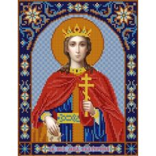 Ткань для вышивания бисером Святая Екатерина, 20х25, Конек