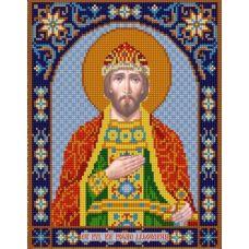 Ткань для вышивания бисером Святой Борис, 20х25, Конек