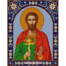 Ткань для вышивания бисером Святой Богдан, 20х25, Конек