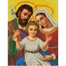 Ткань для вышивания бисером Святое семейство, 23х30, Конек