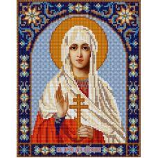 Ткань для вышивания бисером Святая Евгения, 20х25, Конек