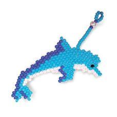 Брелок Дельфин, Набор для бисероплетения, Кроше