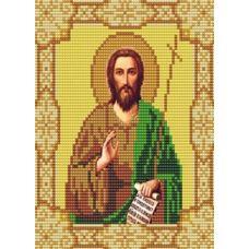 Ткань для вышивания бисером Святой Иоанн Предтеча, 15х18, Конек