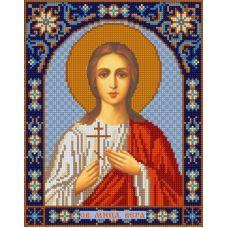 Ткань для вышивания бисером Святая Вера, 20х25, Конек