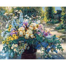 Картина по номерам Летнее великолепие, 40x50, Белоснежка
