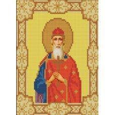 Ткань для вышивания бисером Святой Владимир, 15х18, Конек