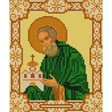 Ткань для вышивания бисером Святой Никон Радонежский, 15х18, Конек