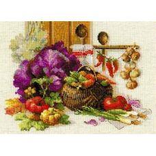 Набор для вышивания Богатый урожай, 40x30, Риолис, Сотвори сама