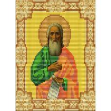 Ткань для вышивания бисером Святой Илья, 15х18, Конек
