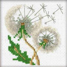 Набор для вышивания Воздушные одуванчики вышивка бисером, 10x10, Риолис, Сотвори сама