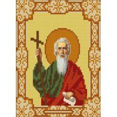 Ткань для вышивания бисером Святой Андрей Первозванный, 15х18, Конек