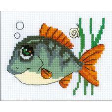 Набор для вышивания Рыбка с улыбкой, 16x13, Риолис Веселая пчёлка