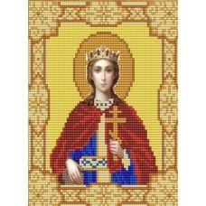 Ткань для вышивания бисером Святая Екатерина, 15х18, Конек