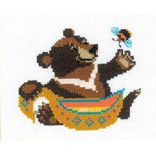Набор для вышивания Гималайский мёд, 16x13, Риолис Веселая пчёлка