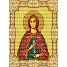 Ткань для вышивания бисером Святая Юлия (Иулия), 15х18, Конек