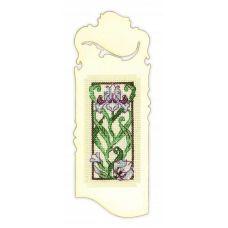 Набор для вышивания Закладка. Цветущий ирис, 6x16, Риолис Сотвори сама
