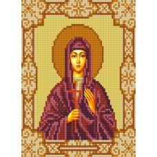 Ткань для вышивания бисером Святая Валентина, 15х18, Конек