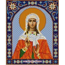 Ткань для вышивания бисером Святая София, 20х25, Конек
