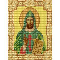 Ткань для вышивания бисером Святой Кирилл, 15х18, Конек