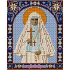 Ткань для вышивания бисером Святая Елизавета, 20х25, Конек