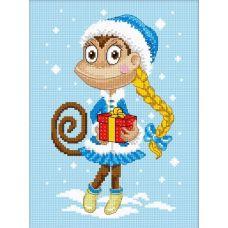Набор для вышивания Снегурочка, 22x16, Овен