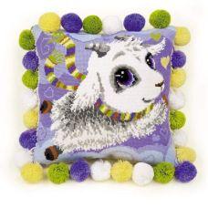 Набор для вышивания Подушка. Козлик, 30x30, Риолис, Сотвори сама
