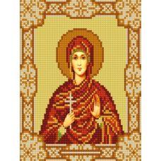 Ткань для вышивания бисером Святая Алла, 15х18, Конек