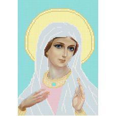 Ткань для вышивания бисером Молюсь о вас, 19х29, Конек