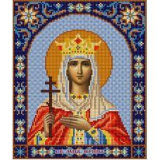Ткань для вышивания бисером Святая Ирина, 20х25, Конек
