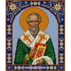 Ткань для вышивания бисером Святой Руслан, 20х25, Конек