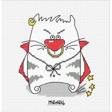 Набор для вышивания Кошачий гороскоп. Телец, 10x12, Овен