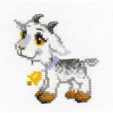 Набор для вышивания Серенький козлик, 15x15, Риолис Веселая пчёлка