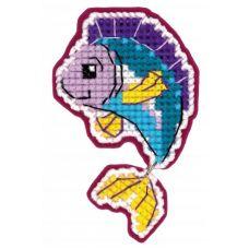 Набор для вышивания Магнит. Рыбка, 6x9, Риолис Сотвори сама