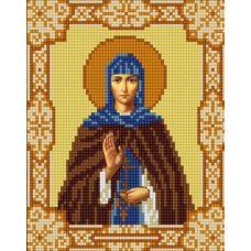 Ткань для вышивания бисером Святая Марина, 15х18, Конек