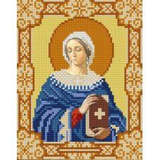 Ткань для вышивания бисером Святая Анастасия, 15х18, Конек