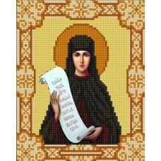 Ткань для вышивания бисером Святая Полина, 15х18, Конек