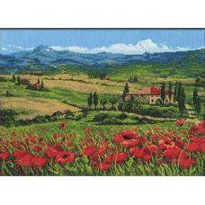 Вышивка крестиком Тоскана, 40x30, Риолис Премиум