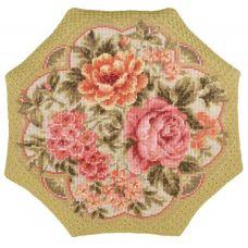 Набор для вышивания Подушка. Вечерний сад, 40x40, Риолис, Сотвори сама