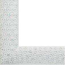 Рама багетная SANDRA (СЕРЕБРЯНЫЙ) 40x50, Белоснежка