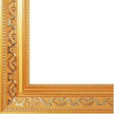 Рама багетная BAROQUE (ЗОЛОТОЙ) 40x50, Белоснежка