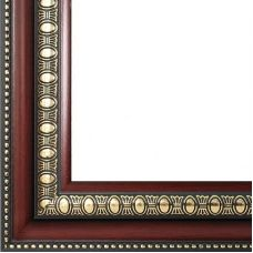Рама багетная RENAISSANCE (ТЕМНО КОРИЧНЕВЫЙ) 40x50, Белоснежка