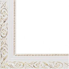 Рама багетная ANTIQUE (БЕЛЫЙ) 40x50, Белоснежка