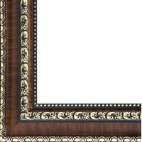 Рама багетная DONNA (ТЕМНО КОРИЧНЕВЫЙ) 40x50, Белоснежка
