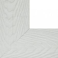 Багетная рама Lisa (белый), 30x40, Белоснежка