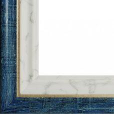 Багетная рама Viola (синий + белый), 40x50, Белоснежка